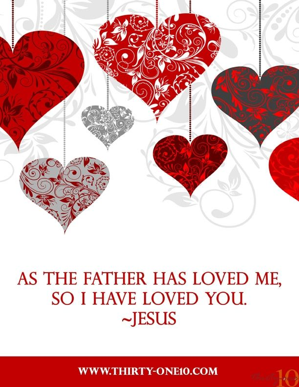 For God So Loved The World Valentine | Celebrate Valentineu0027s Day With FREE  Printables!