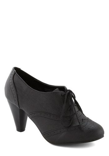 It's All Chic to Me Heel in Black, #ModCloth