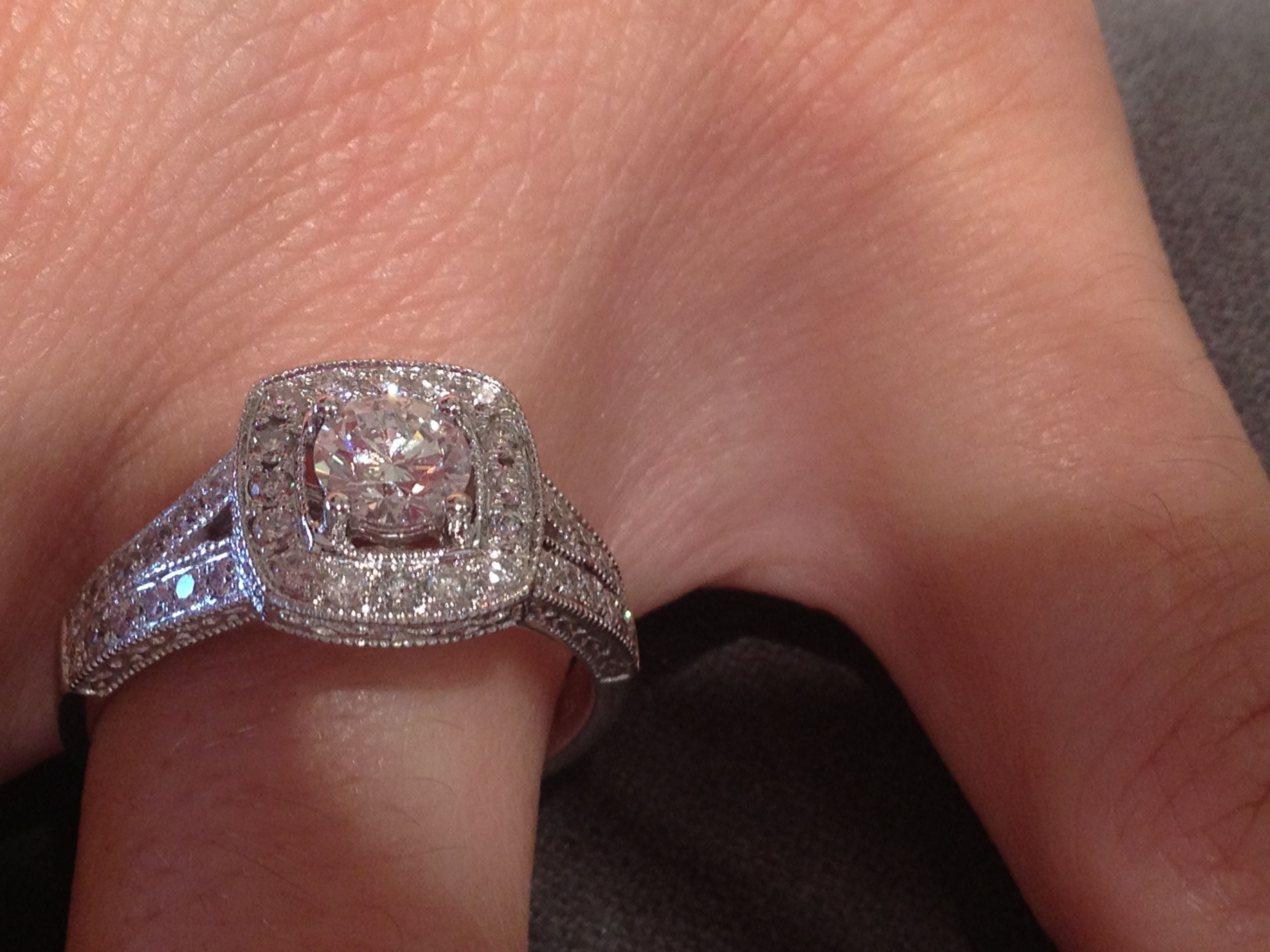 Nice big engagement ring About $8000 from Michael Hill Jeweller jewelry