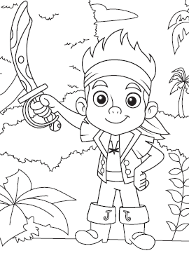 Where To Find Free Printable Disney Coloring Pages Coloriage Disney Coloriage Jack Le Pirate Coloriage