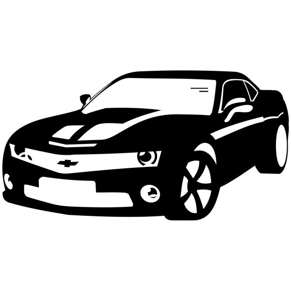 Сhevrolet Camaro. Free Vector Illustration