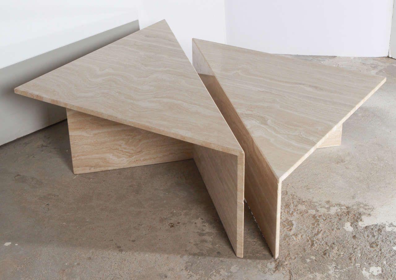 Elegant Travertine Coffee Table Tables In 2019