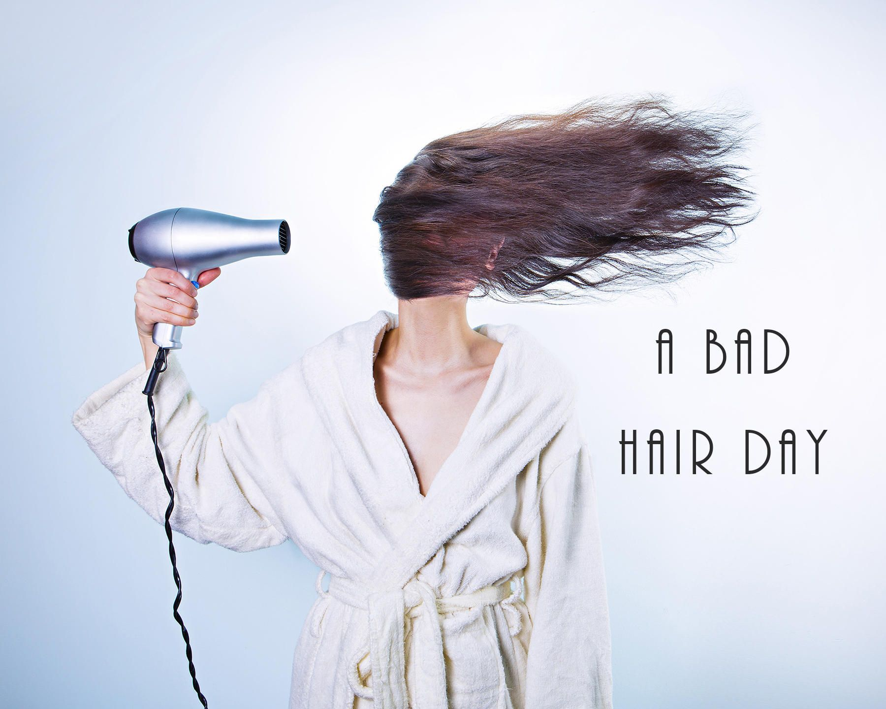 Bad Hair Day Hair Dryer Hairdresser Peluquero Hairdressing Salon Spa Stylist Stylist Beautician Funny Wall Art Print Free USA Shipping by admurphyphotography on Etsy