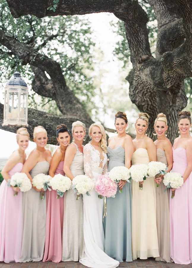 Whimsical Texas Wedding At The Stonegate Mansion Pastel