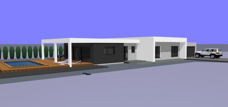Maison plain-pied de 152 m² avec garage accolé - Next Home | Maison ...