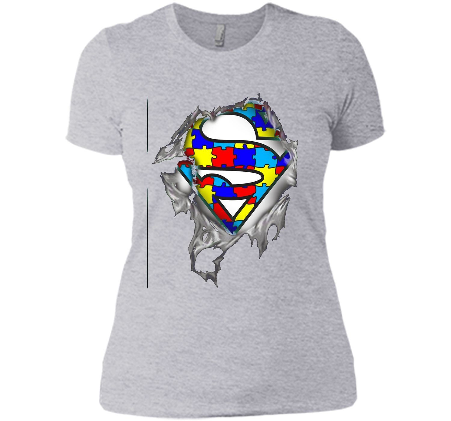 Autism Awareness Day Gifts Super Autism T Shirts Color