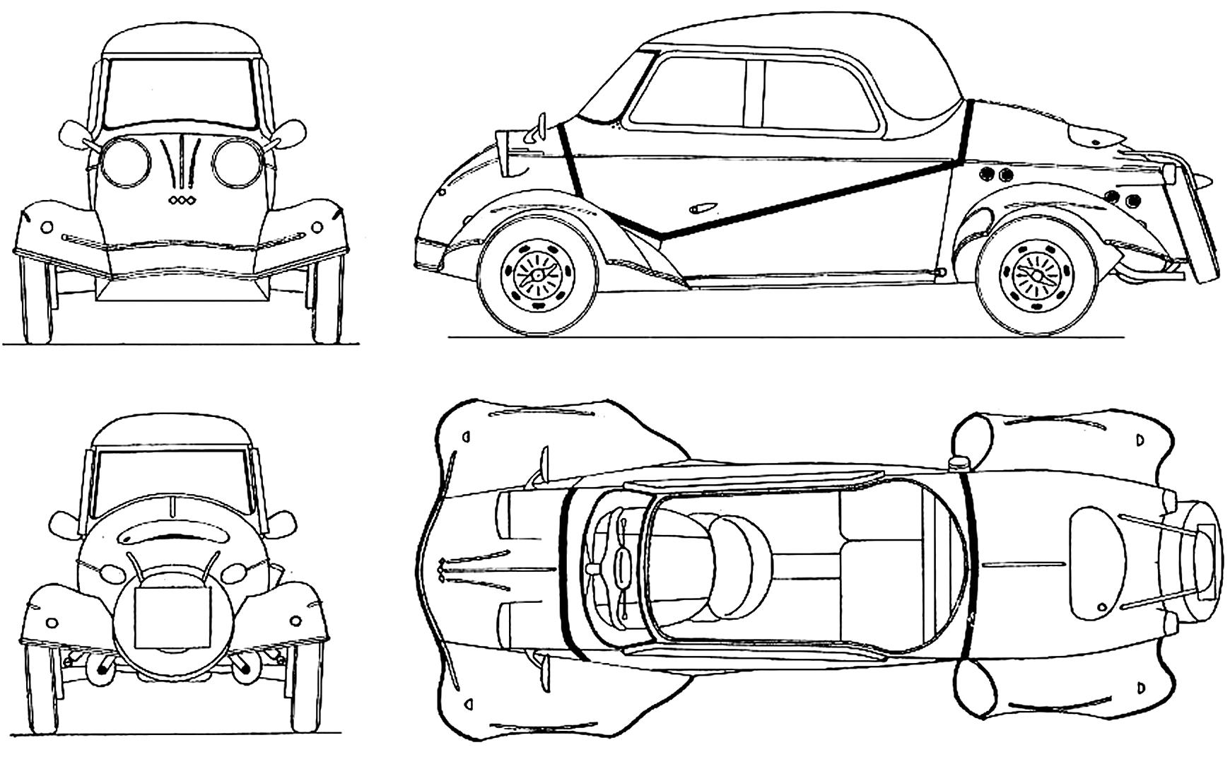 Messerschmitt Tg 500 Smcars