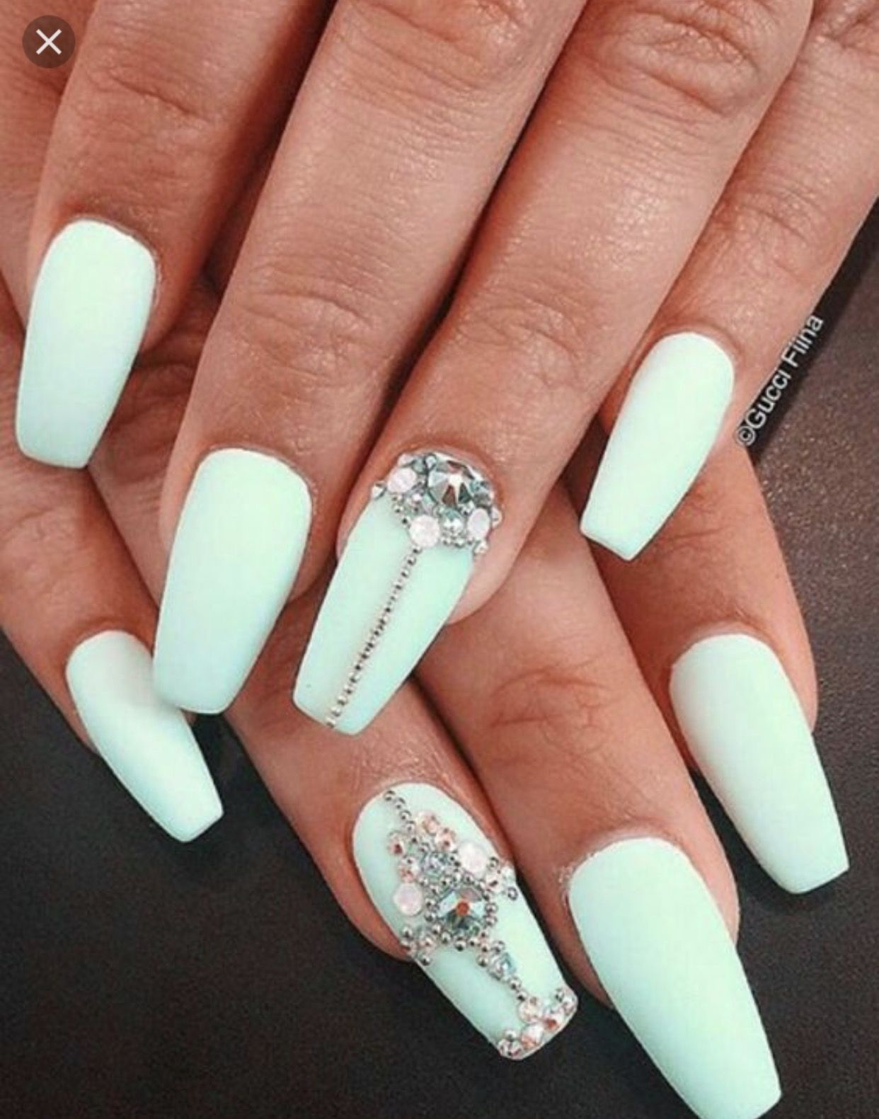 Pin by Star on Nails | Pinterest | Quinceanera ideas, Beauty nails ...