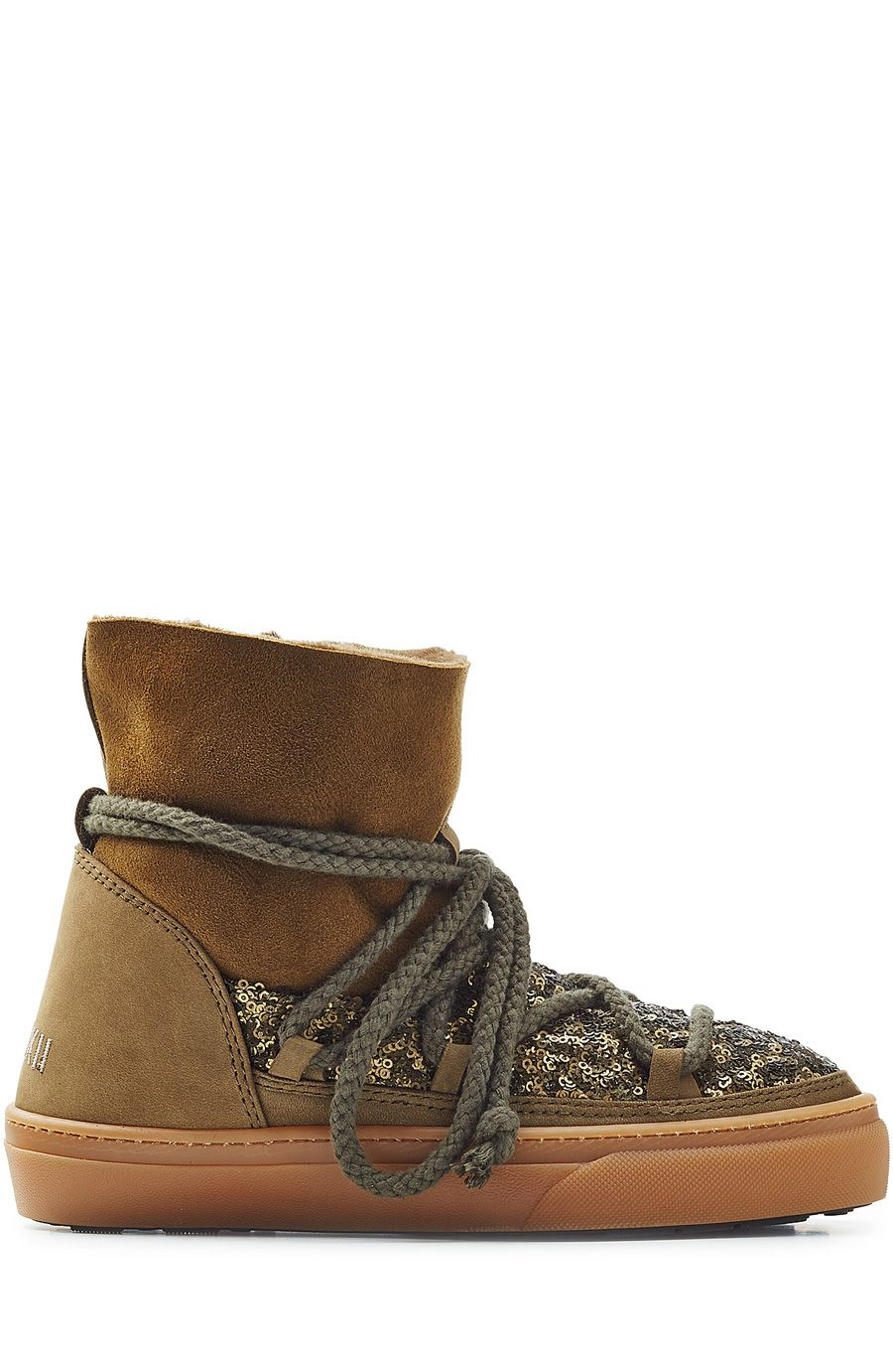 1af5bbe6df2 INUIKII Sequin And Suede Ikkii Low Sneakers. #inuikii #shoes #boots ...