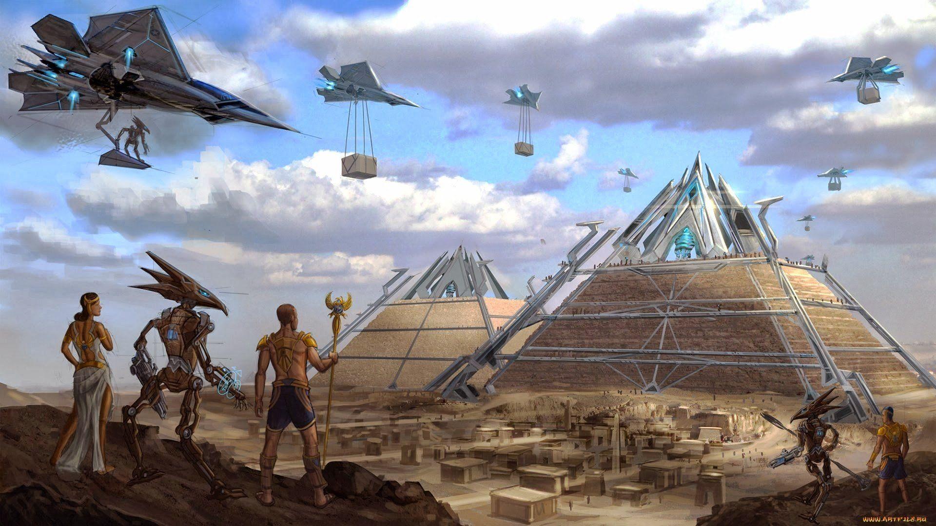 Imagem De Fantasy Por It Girl Ancient Aliens