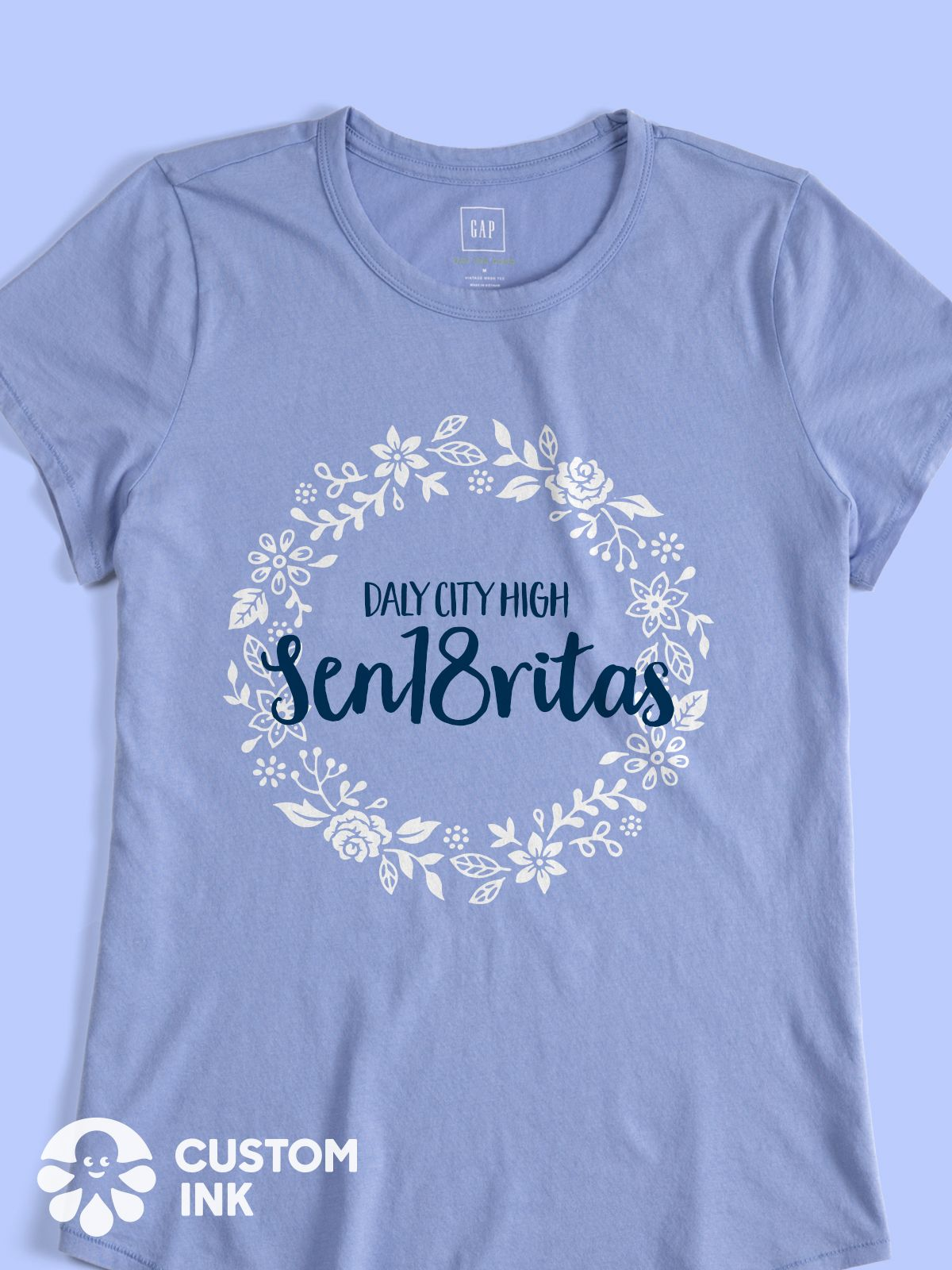 Sen18ritas Class of 2018 class shirt - design idea for custom ...