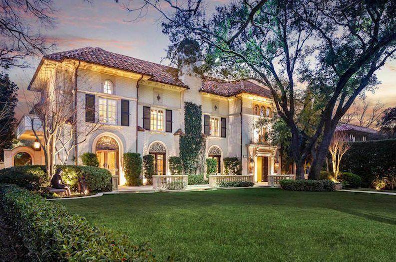 Dallas classic mediterranean home in highland park texas