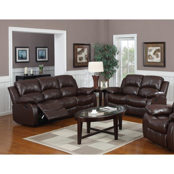 You\u0027ll love the Bryce 2 Piece Reclining Living Room Set at Wayfair