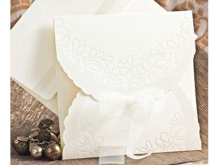 Invitación de boda económica