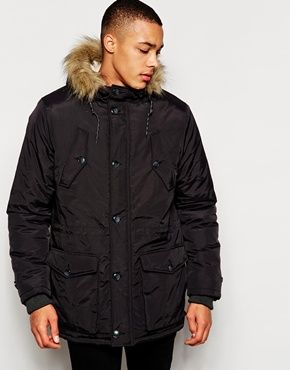 New Look Traditional Parka Jacket | Clothing Wishlist | Pinterest ...