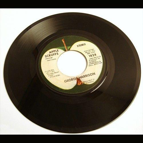 45rpm Vinyl Records George Harrison Vinyl 45 Rpm Record What Is Life Apple Scruffs Vinyl Records Records 45 Rpm Record