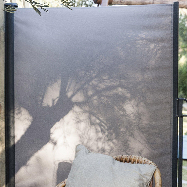 ecran brise vue enroulable 1 6 x 3 m leroy merlin terrasse balcon pinterest ecran bris. Black Bedroom Furniture Sets. Home Design Ideas