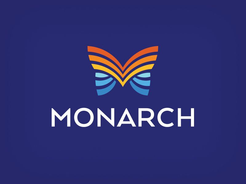 Monarch Logo Inspiration Branding Butterfly Logo Logo Design 2016
