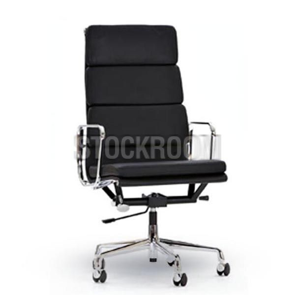 Eames Softpad Highback With Castors Office Chair - HKD 2190 - http://www.stockroom.com.hk/eames-softpad-highback-with-castors-office-chair-p-1652.html