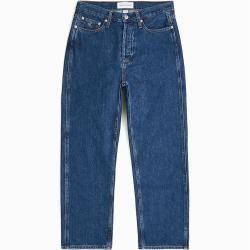 Photo of Calvin Klein Leather-Free Ckj 030 High Rise Straight Jeans 32 Calvin KleinCalvin Klein