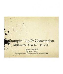 Convention Swap Tutorial