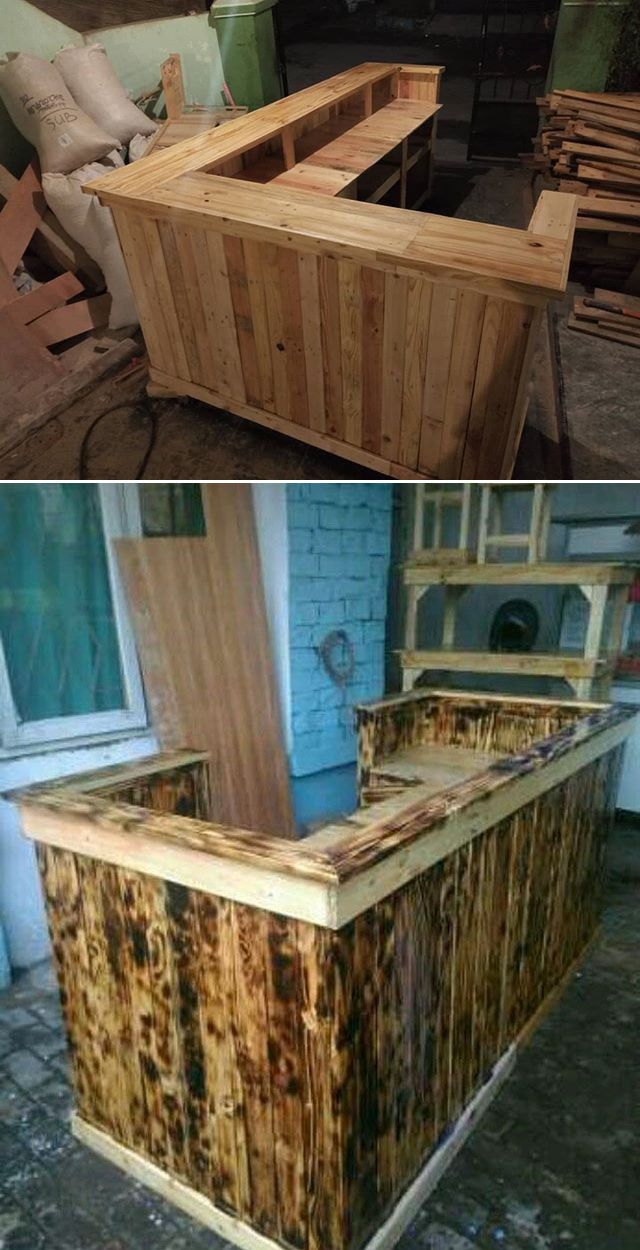 37+ Trendy Wood Pallet Racks & Other Projects | Wood ...