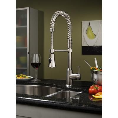 American Standard - Pekoe Semi-Professional Kitchen Faucet, Polished ...