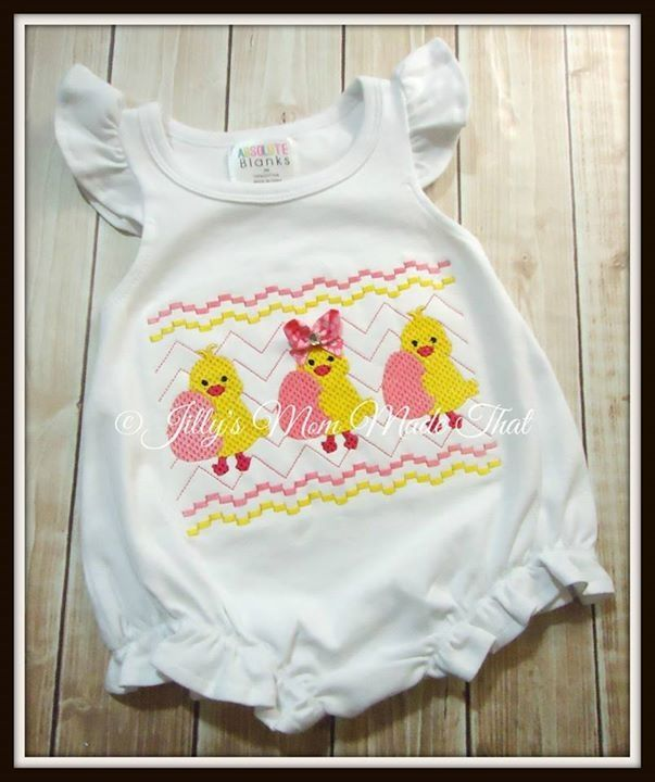 Girls Ruffle Romper www absoluteblanks com Appliqué design from Baby