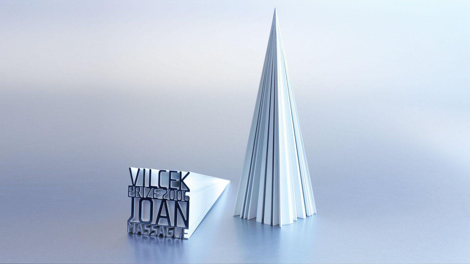 Vilcek Prize Trophy, Stefan Sagmeister