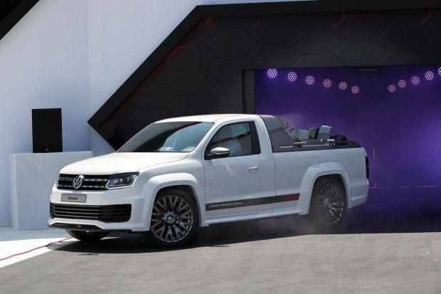 Vw Amarok Usa >> Check Out Volkswagen S Verboten Amarok R Style Pickup