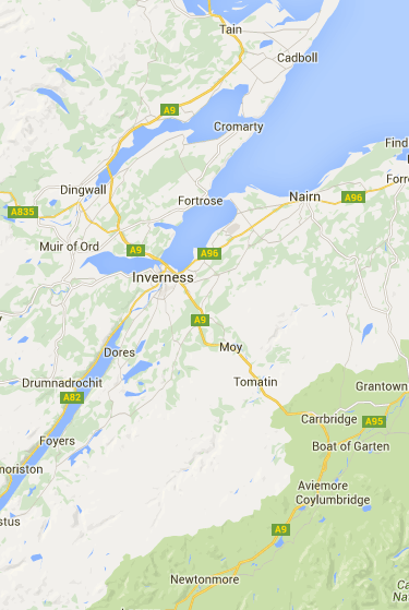 Google Maps | Scotland | Pinterest | View map, Driving directions ...