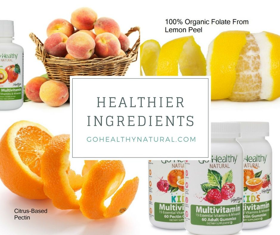 Try our healthier ingredients. Healthy ingredient