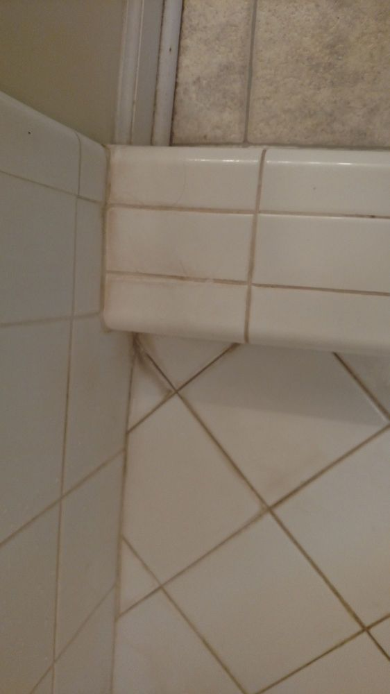 How To Get Lime Calcium Rust Off Ceramic Tile I Diy