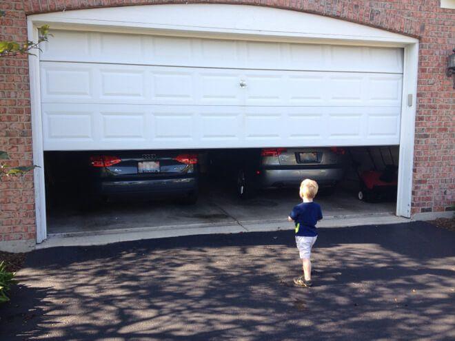 7 Simple Steps To Troubleshoot When The Garage Door Won T Close A Click Away Blog Garage Doors Garage Door Troubleshooting Garage