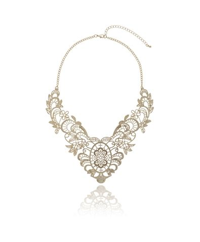 Gina Tricot -Cutout necklace