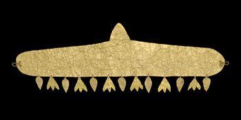 Ancient Near Eastern Art | Hair Band w/palmette design | Gift of Arthur M. Sackler | ca. 400-200 B.C.E. | S1987.146