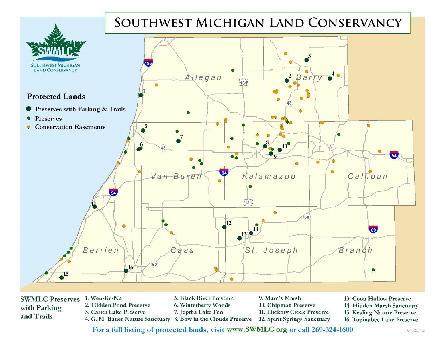 Southwest Michigan Land Conservancy In Allegan Barry