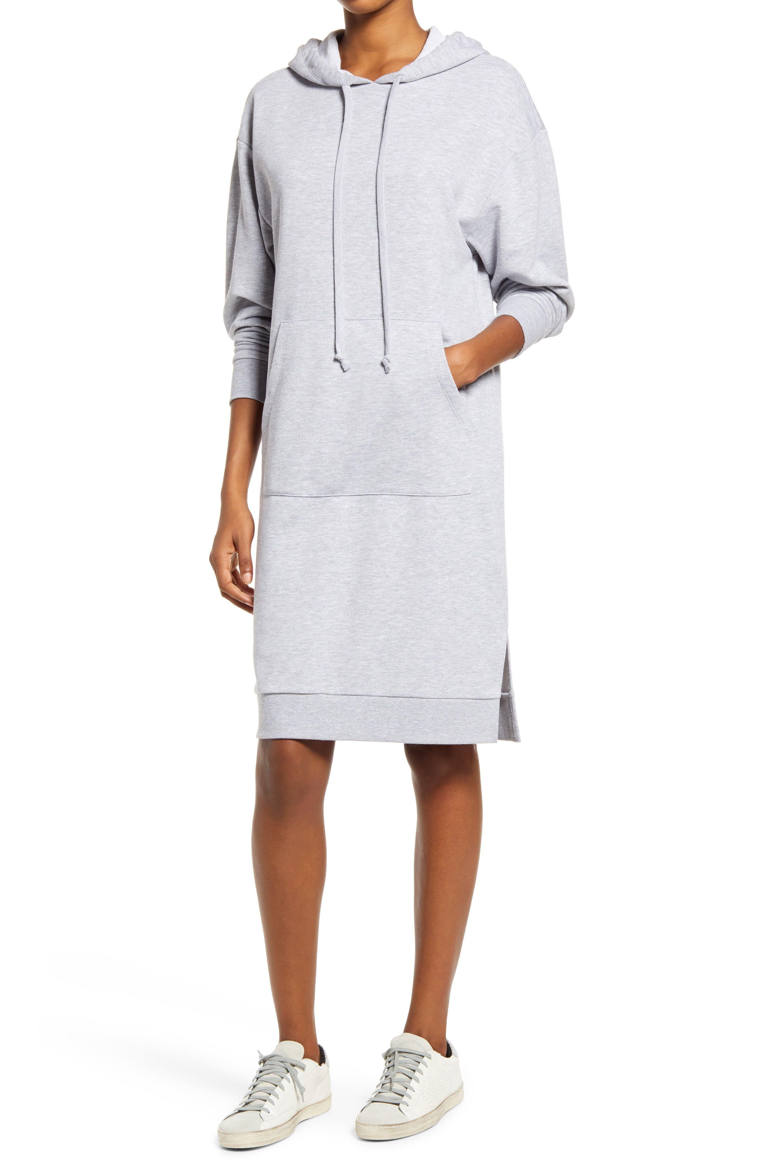 Charles Henry Long Sleeve Knit Hoodie Dress Nordstrom In 2021 Sweatshirt Dress Outfit Long Sweatshirt Dress Hoodie Sweatshirt Dress [ 4048 x 2640 Pixel ]