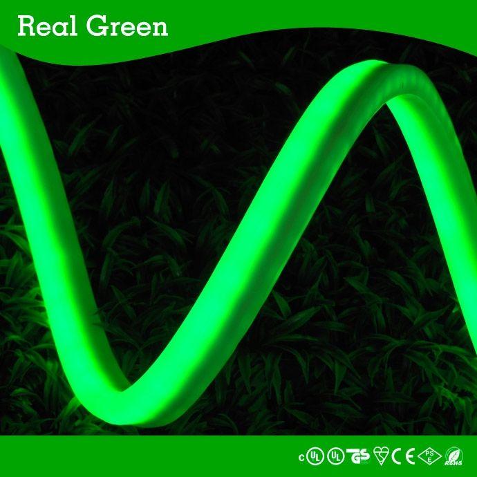 120v 2 Wires Green Led Rope Light 120v Led Neon Rope Light Led Neon Effect Rope Light Waterproof Led Led Rope Lights Flexible Led Strip Lights Led Down Lights