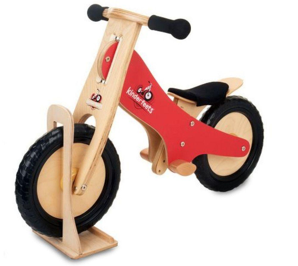 Kinderfeet Wooden Balance Bike Wooden Balance Bike Balance Bike Bike Stand