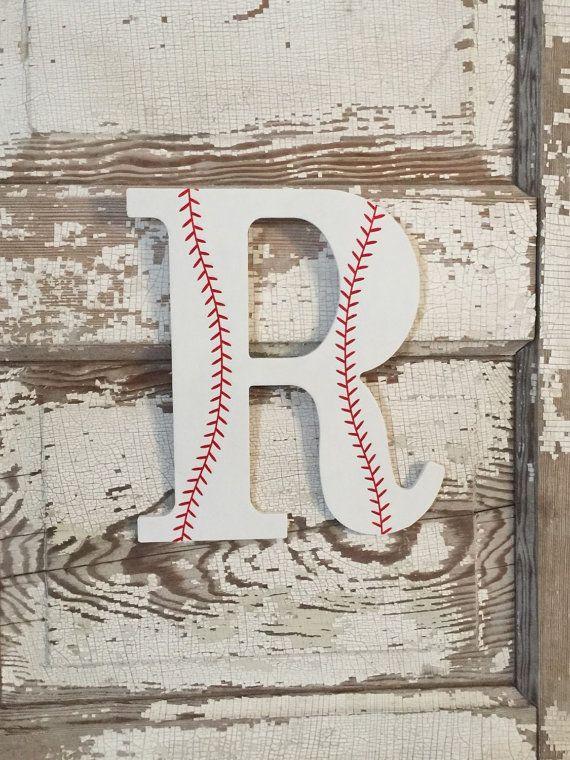 Boys Baseball Sports Decorative Wooden Wall By
