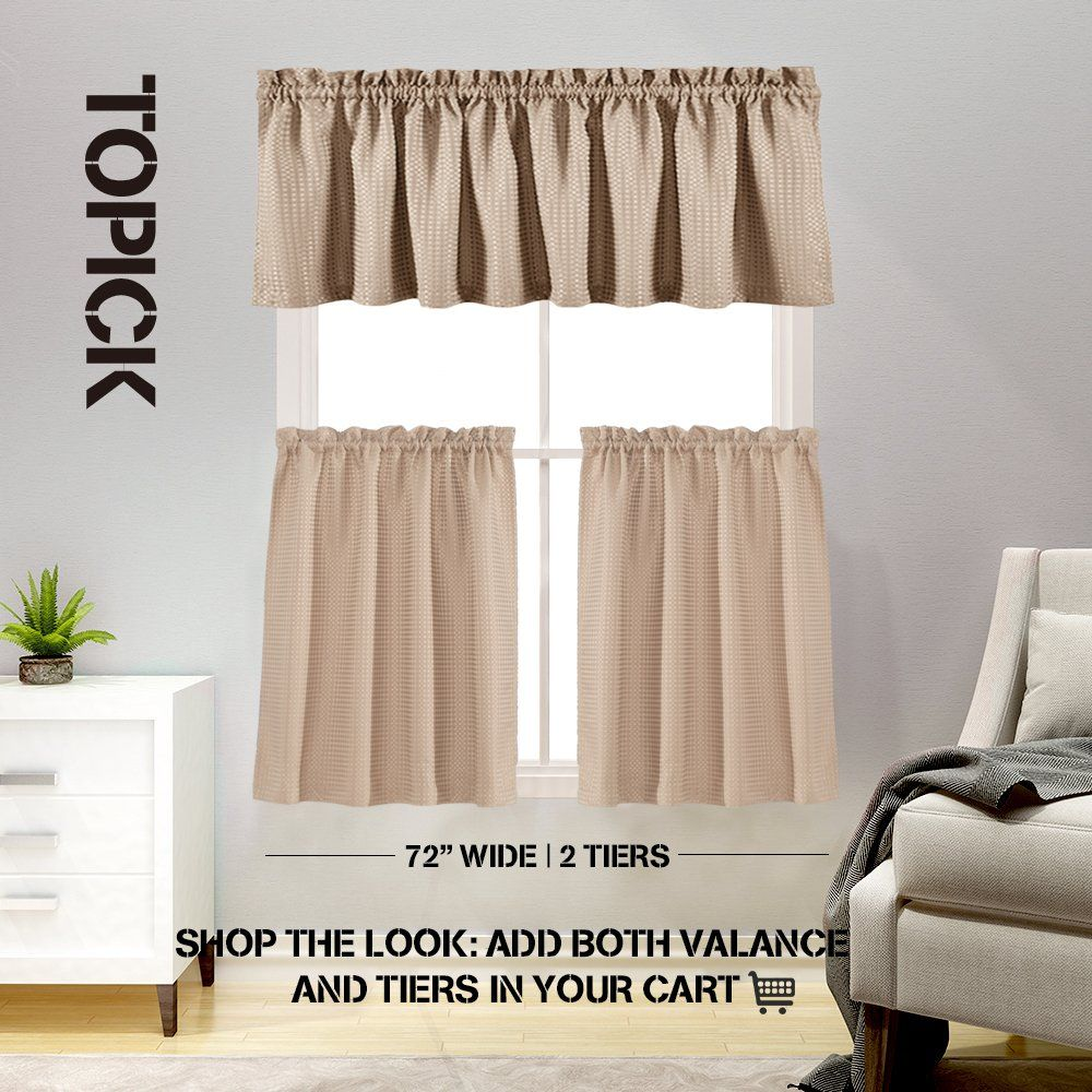 lazzzy half window curtains for kitchen