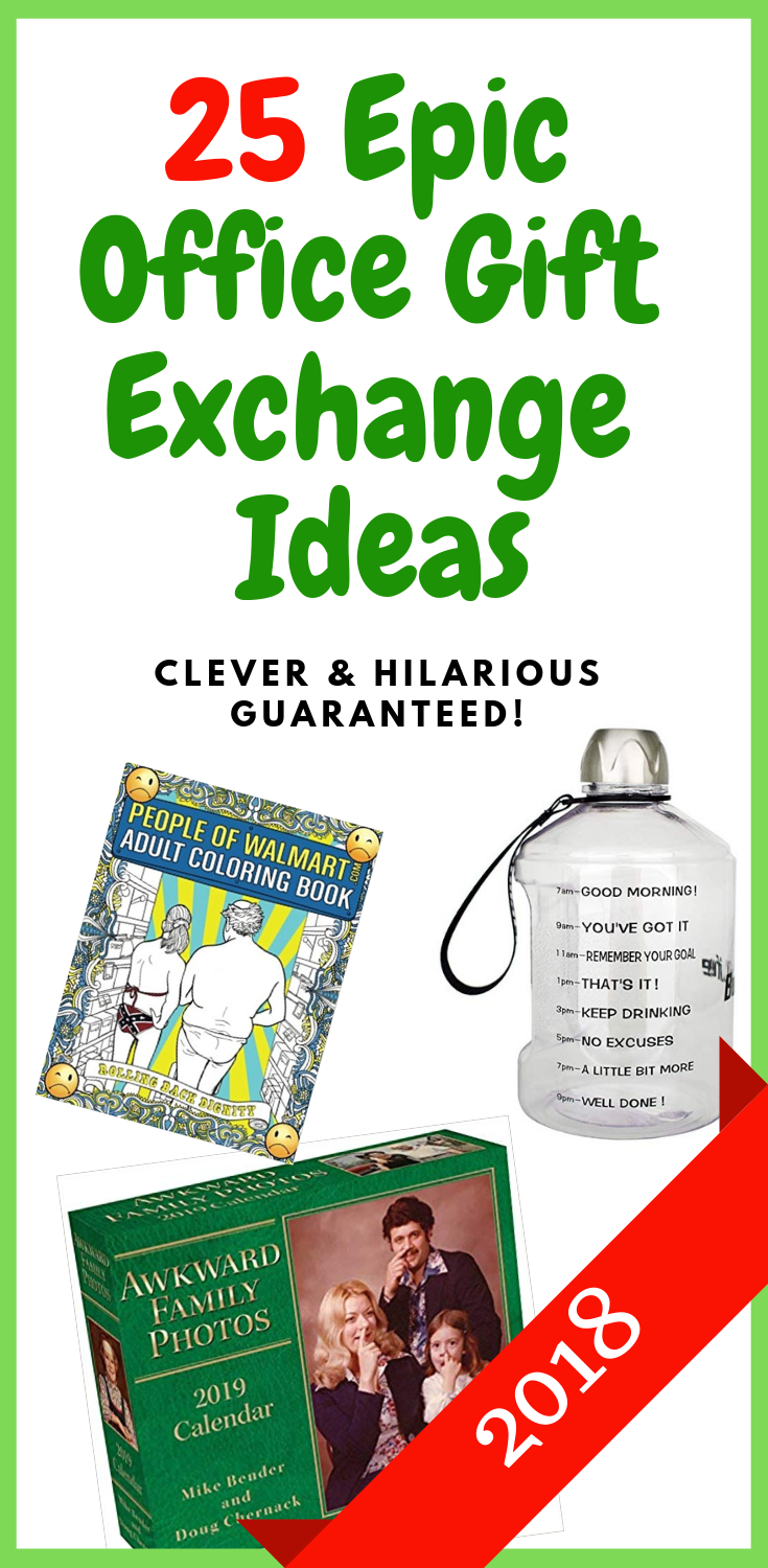 Funny Christmas Gift Exchange Ideas.25 Epic Office Gift Exchange Ideas The Most Wonderful Time
