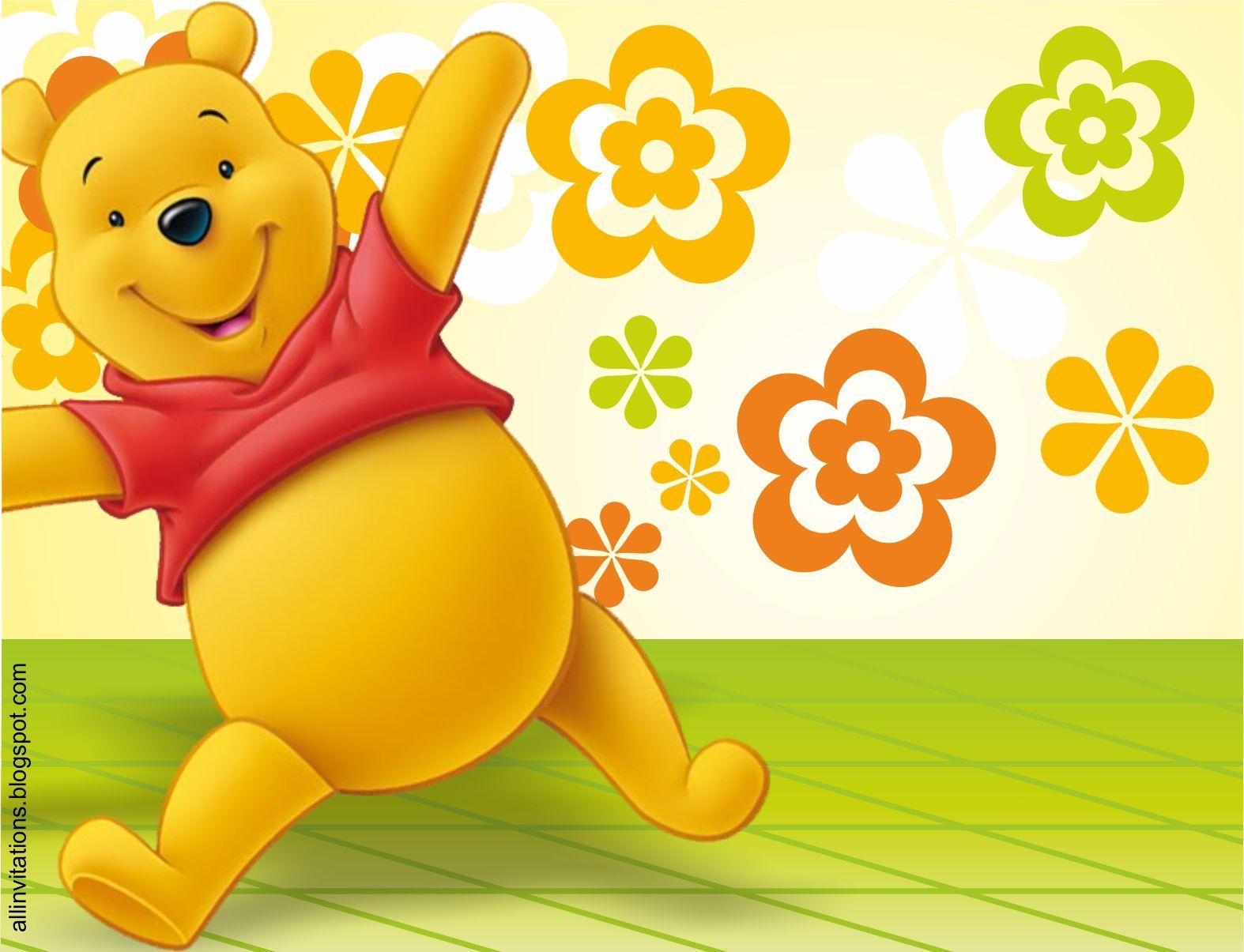 Pin De Marina En Pooh Citas De Cumpleaños Winnie