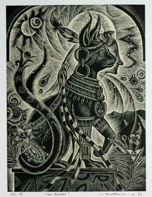 Bastet    for trish  Egyptian cat goddess  For protection