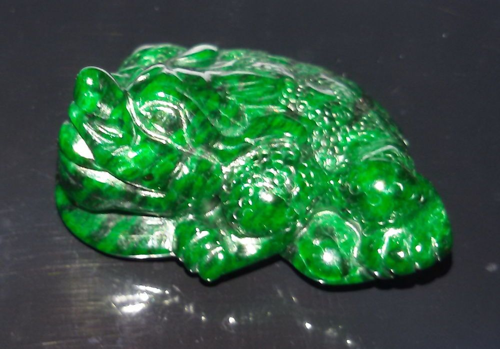 Maw Sit Sit Frog pendant 100% Natural & Untreated aprox. 27x22x14mm 54cts #Siamgems #Pendant