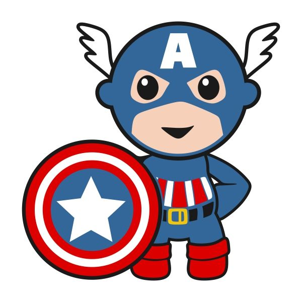 Superhero Baby Boy Cuttable Designs Baby Superhero Baby Avengers Avengers Cartoon