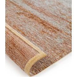 Photo of benuta Flachgewebeteppich Frencie Braun 80×165 cm – Moderner Teppich für Wohnzimmer benuta