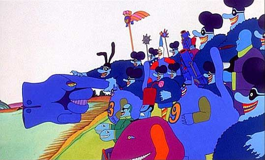 The Blue Meanies from The Beatles' :Yellow Submarine ...