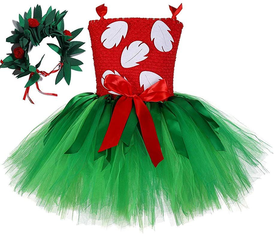 Tutu Dreams Hawaiian Lilo Costume Toddler